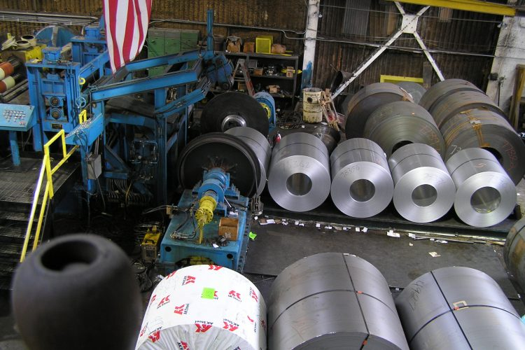 Roll Removal And Load Cells