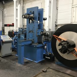 New 3 High Embossing Mill