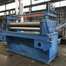 """New 104″ Wide x ½"""" Thick Flattener For A Cut To Length Line"""